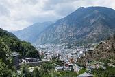 vue de l'andorra la vella, Andorre
