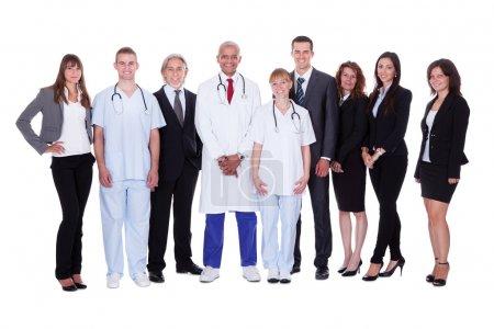Hospital staff group