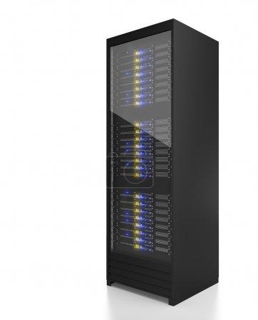 Server rack image
