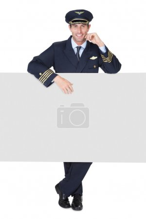 Portrait of confident pilot