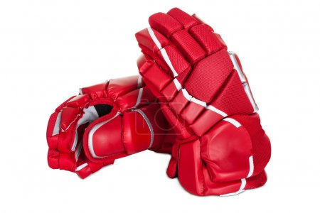 Pair of hockey gloves