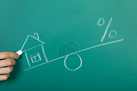 Drawing a mortgage illustration
