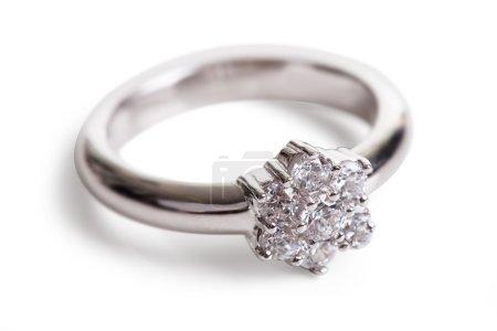 Close-up Of Diamond Ring
