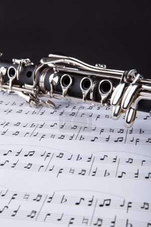 Clarinet And Musical Note