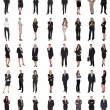 Group Of Multi Ethnic Business People Standing Ove...