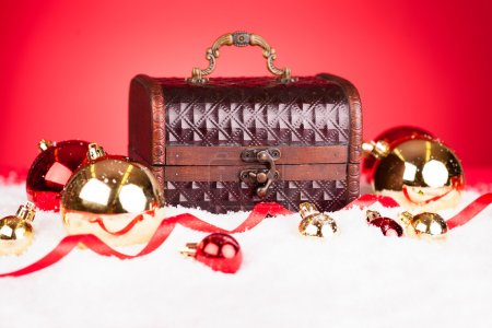 Christmas Bauble With Treasure Box