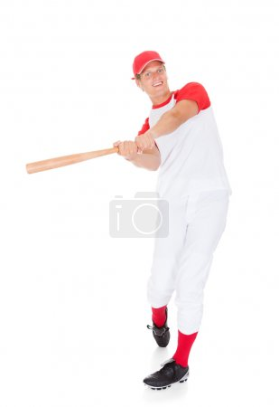 Portrait Of Baseball Player