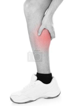 Man Having Leg Injury