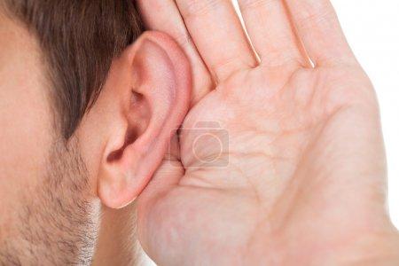 Hand Near Ear