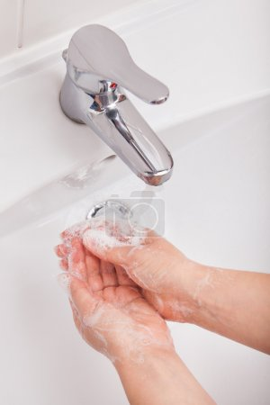 Person Washing Hand