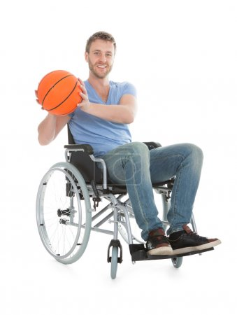 Disabled basketball Player