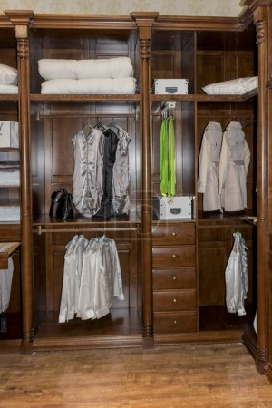 Photo for Modern dressing room interior detail - Royalty Free Image
