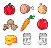Set of ingredients icon