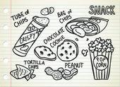 Snack doodle