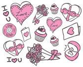Valentines day doodle