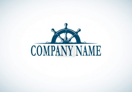 Anchor company logo template