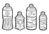 Plastic bottle doodle