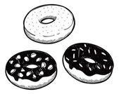 Set of donut