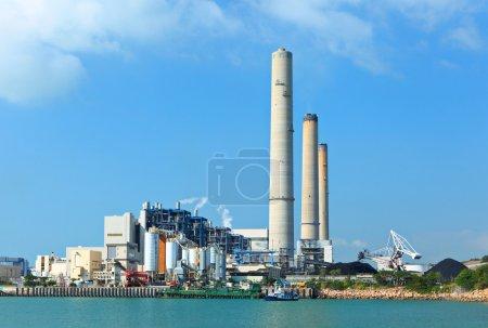 Photo pour Centrale électrique - image libre de droit