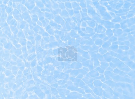 Photo for Fresh blue water ripple background - Royalty Free Image
