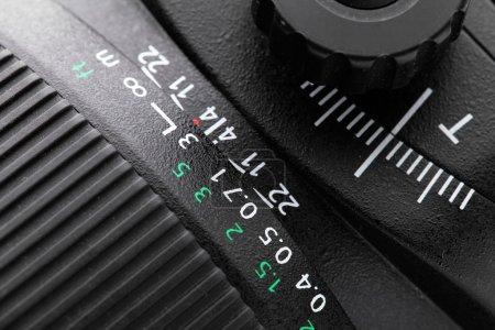 Tilt shift lense close up