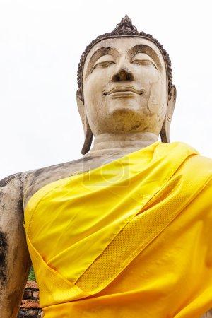 Photo pour Bouddha géant antique - image libre de droit