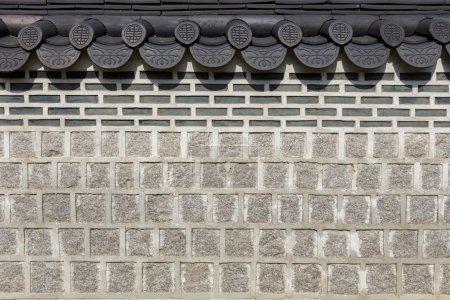 Photo pour Architecture asiatique traditionnelle - image libre de droit