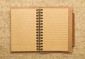 Spirála notebook
