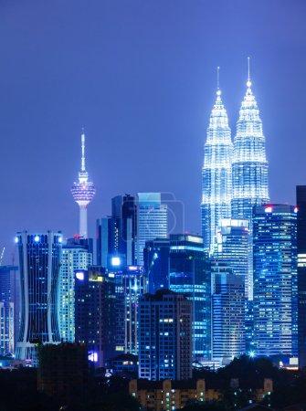 Photo pour Kuala Lumpur ville - image libre de droit