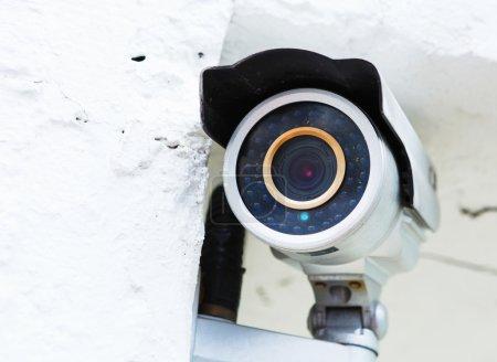 Caméra de surveillance murale