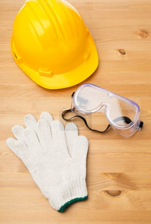 Photo for Standard construction safety equipment - Royalty Free Image
