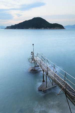 Jetty and seascape