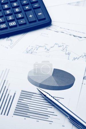 Photo pour Rapport financier - image libre de droit