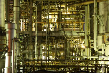 Photo pour Complexe industriel - image libre de droit