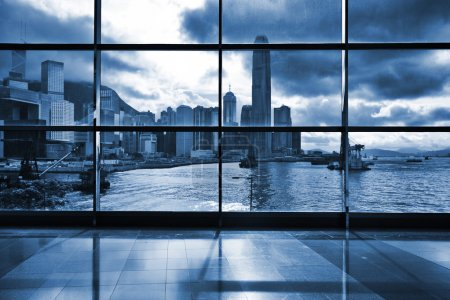 Photo for Interior of modern building in Hong Kong - Royalty Free Image