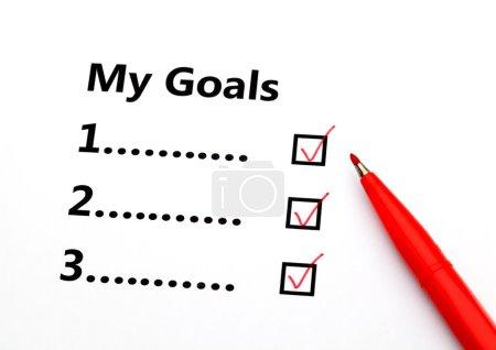 Achieved goal
