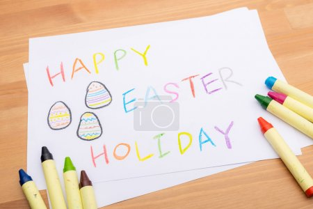 Hand drawing for easter holiday