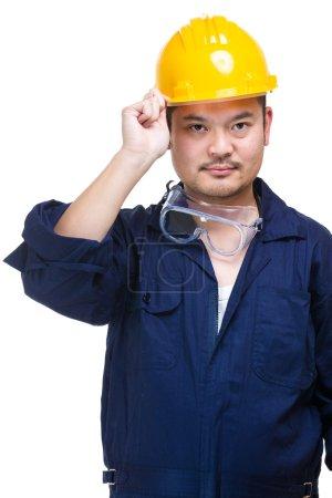 Photo pour Ingénieur confiant - image libre de droit