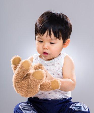 Baby boy play doll toy