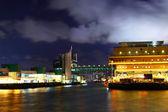 Ferry pier v hong Kongu