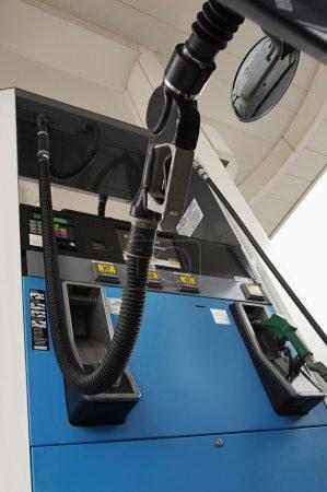 Petrol Nozzle Refueling Car's Tank