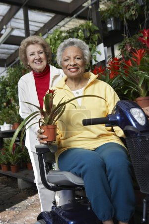 Women At Botanical Garden