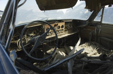 Old Broken Car