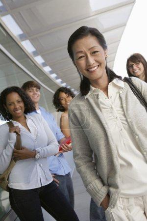 Happy Asian Female Teacher