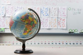Globe In Elementary Classroom