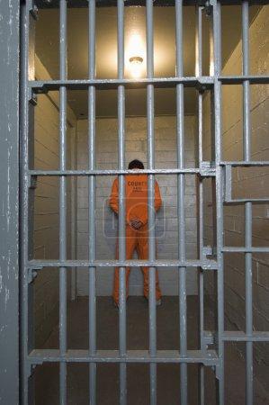 Criminal In Prison Cell
