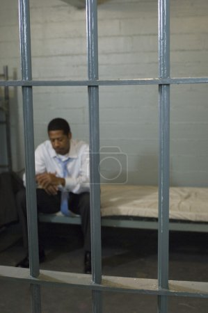 Criminal Sitting In Jail