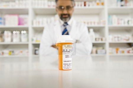 Prescription Drugs And Male Pharmacist