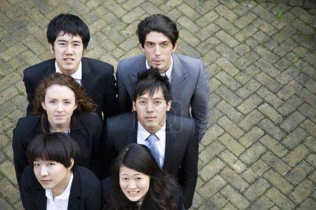 Foto de Grupo de retratos de grupo empresarial diversos - Imagen libre de derechos