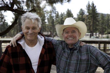 male senior cowboys